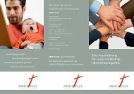 Informationen zum Arbeitsplatzsiegel ARBEIT PLUS als pdf zum ...