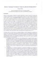 2001 : Philippe DUBOIS et Elie RAPHAEL (bulletin N°91) - Groupe ...