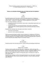 Pravila za izvedbo internega dela splošne mature pri predmetu ...