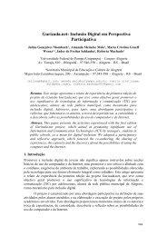 Gurizada.net: Inclusão Digital em Perspectiva Participativa