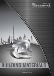 Group Harwal Building Materials Brochure - AEC Online