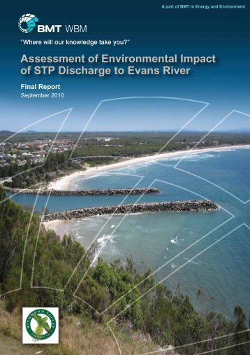 Assessment of Environmental Impact of STP Discharge to Evans River