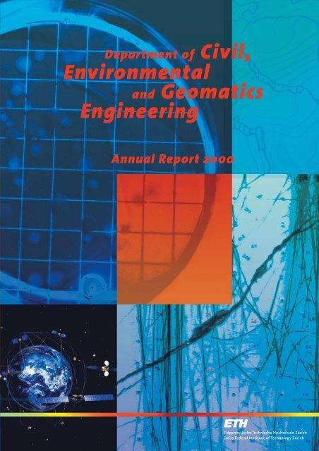 Civil, Environmental and Geomatics Engineering - Departement Bau ...