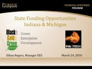 State Funding Opportunities Indiana & Michigan - Forging Industry ...