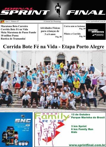 Corrida Bote Fé na Vida - Etapa Porto Alegre