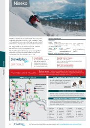 Package COSTS Include - Travelplan Ski