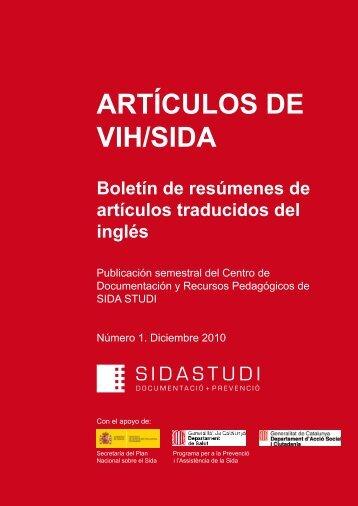 ARTÍCULOS DE VIH/SIDA - Sida Studi