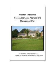 Stanton Fitzwarren - Swindon Borough Council