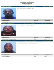Updated March 25: Mugshots of inmates arrested in Lenoir County