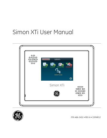 Simon 2 Installation Instructions Protectron Security