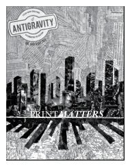Download it now, in PDF format - Antigravity Magazine