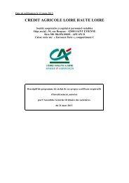 Descriptif du programme de rachat de ses propres Certificats ...