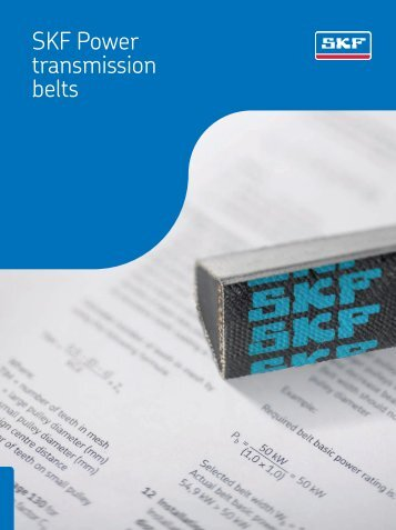 SKF Power Transmission Belts Catalogue - Waikato Bearings