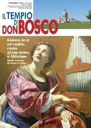 Gioisco in te ed esulto, canto al tuo nome, o ... - Colle Don Bosco