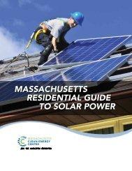 massachusetts residential guide to solar power - Amazon Web ...