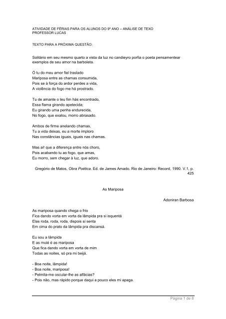 Texto Colãgio Guilherme De Almeida