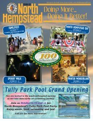 fall mailer - Town of North Hempstead