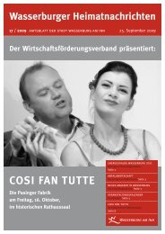 COSI FAN TUTTE - Wasserburg am Inn!