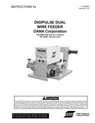 DIGIPULSE DUAL WIRE FEEDER DANA Corporation