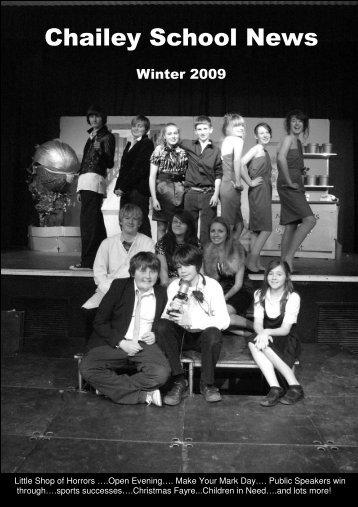 Winter 2009 - Chailey School...