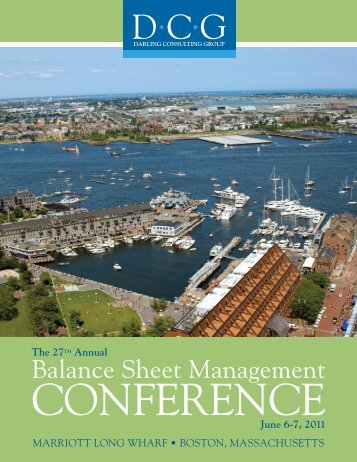 Balance Sheet Management - Darling Consulting Group
