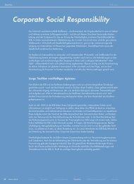 Corporate Social Responsibility - Geschäftsbericht RZB 2005