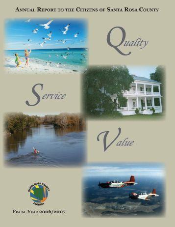 2006-2007 Annual Report - Santa Rosa County
