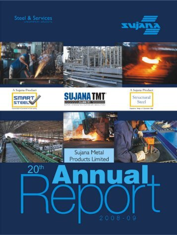 Annual Report FY2009 - Sujana Group