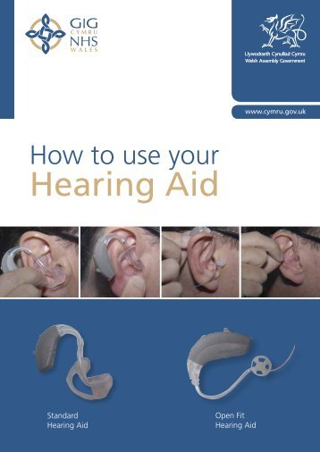 Hearing Aid -  Health in Wales