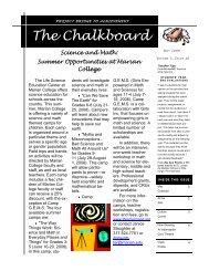 57th Edition May 2008 - Marian University