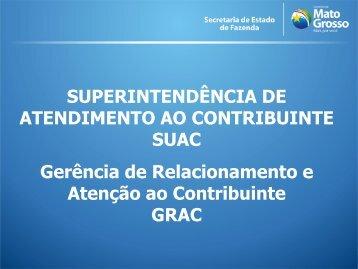 SUPERINTENDÊNCIA DE ATENDIMENTO AO ... - Sefaz