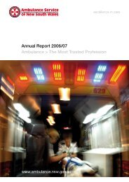 Annual Report - Ambulance Service of NSW