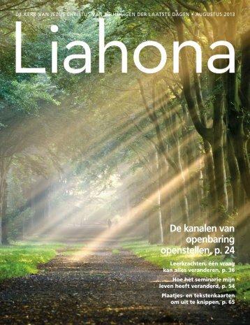 Augustus 2013 Liahona