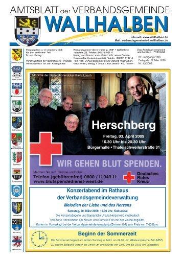 Herschberg - Verbandsgemeinde Wallhalben