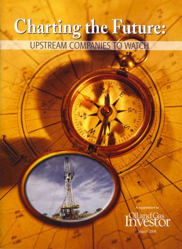 Upstream Companies to Watch - TAG Oil