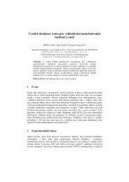 Využití struktury webu pro vyhledávání autoritativních institucí a osob