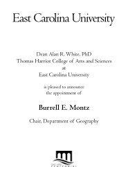 Burrell E. Montz - PirateAlumni.com