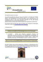 Newsletter August 2013 - Viadrina