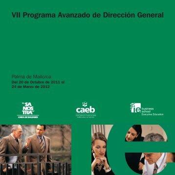 VII Programa Avanzado de Dirección General - Obra Social | ?SA ...
