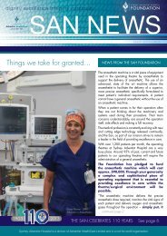 San News Autumn Edition - Sydney Adventist Hospital