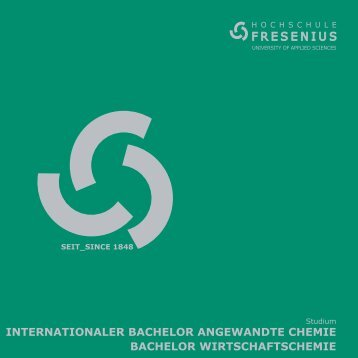 INTERNATIONALER BACHELOR ANGEWANDTE CHEMIE ...