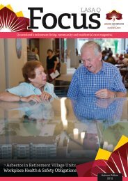 FocusLASA Q - Leading Age Services Australia - Queensland is the ...