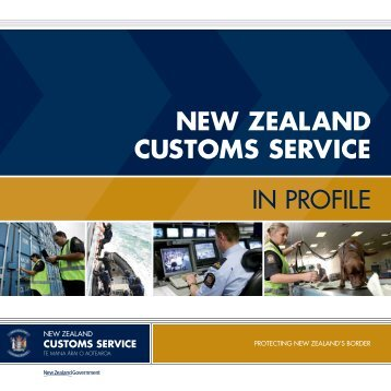 NEW ZEALAND CUSTOMS SERVICE IN PROFILE