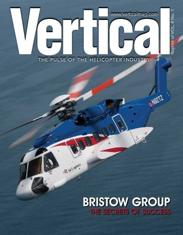 Bristow Group The Secrets of Success, Vertical News VOL.8 No.1