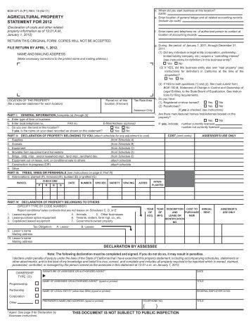 Kern County Property Tax Assessor