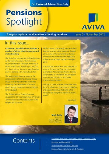 Spotlight - Aviva