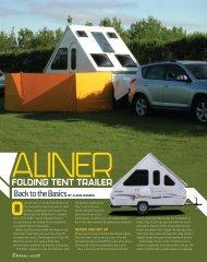 Folding TenT Trailer - Aliner