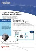 Cooling Water Treatment & Legionella Control A total solution ... - Page 2
