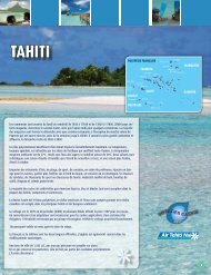 TAHITI - Voyages Cassis