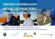 Grenzen overbruggen - Stichting Euregio Maas Rhein